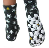 Kids' Nonskid Fleece Socks - Cosmos