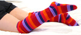 Over-the-Knee Fleece Socks - Jellybean