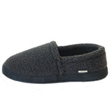 Polar Feet Men's Perfect Mocs in Grey Berber Side View