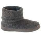 Polar Feet Men's Snugs Slippers in Grey Berber Side View