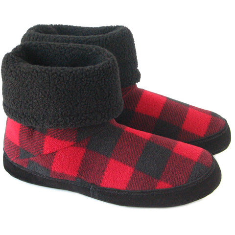 Polar Feet Mens snugs slippers - lumberjack