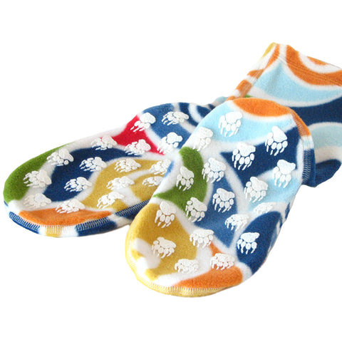 Polar Feet Fleece Socks in Curlz Regular Sole v3