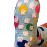 Polar Feet Fleece Socks in Dotty Regular Sole v3
