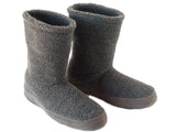 Polar Feet Men's Snugs Slippers in Grey Berber