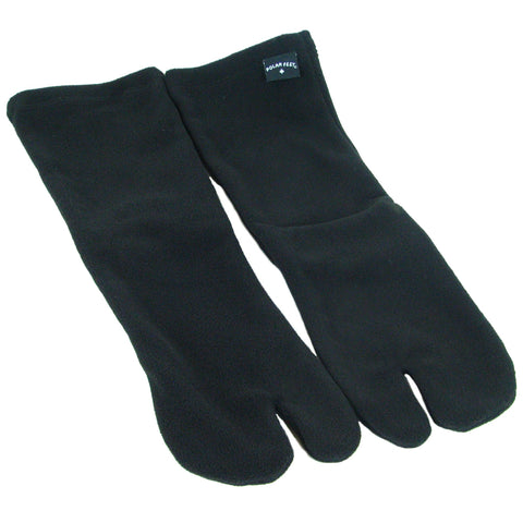 Polar Feet® Fleece Tabi Socks - Black