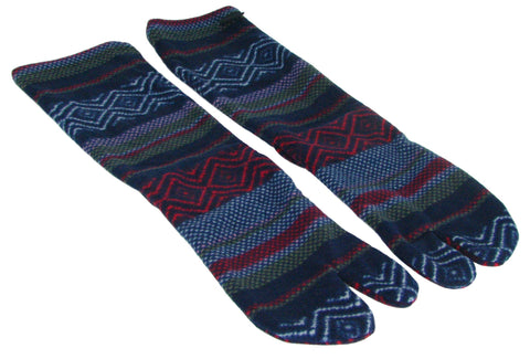 Polar Feet® Fleece Tabi Socks - Nordic