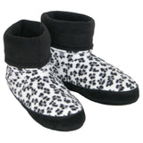 Polar Feet Women's Snugs Slippers in Snow Leopard v3