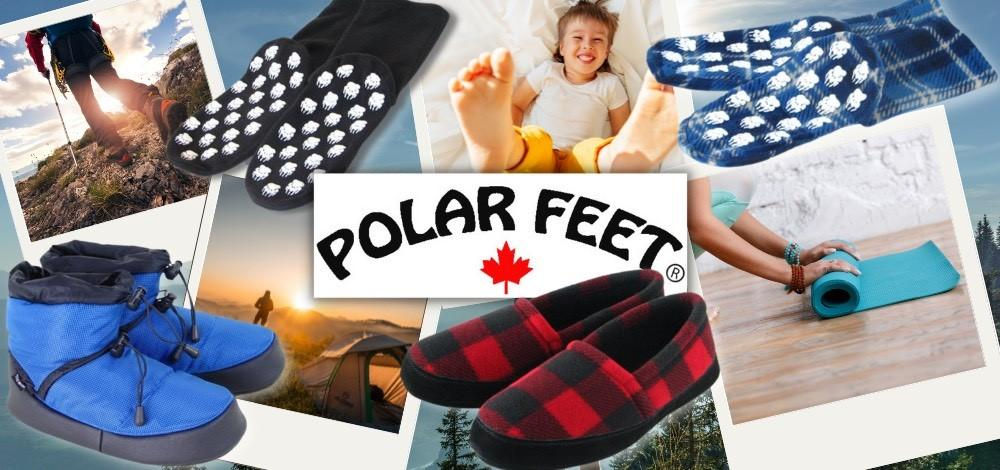 Polar Feet cozy fleece socks for the whole family