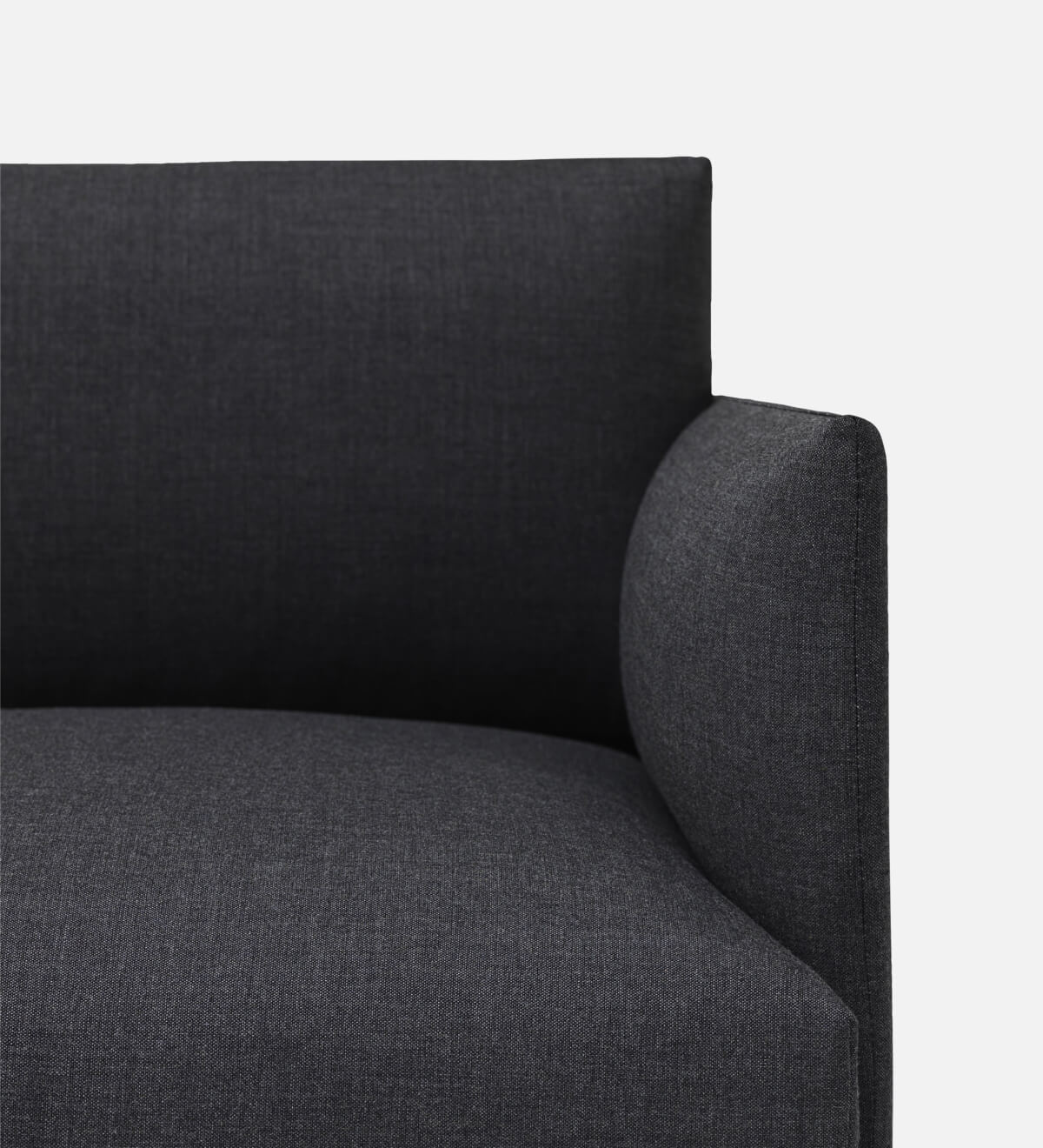 Muuto Outline bank Remix 163 navy detail