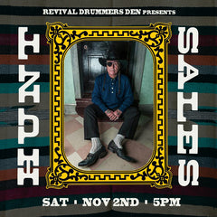 Events - Drummers Den with Hunt Sales at Revival 11/2, 5pm