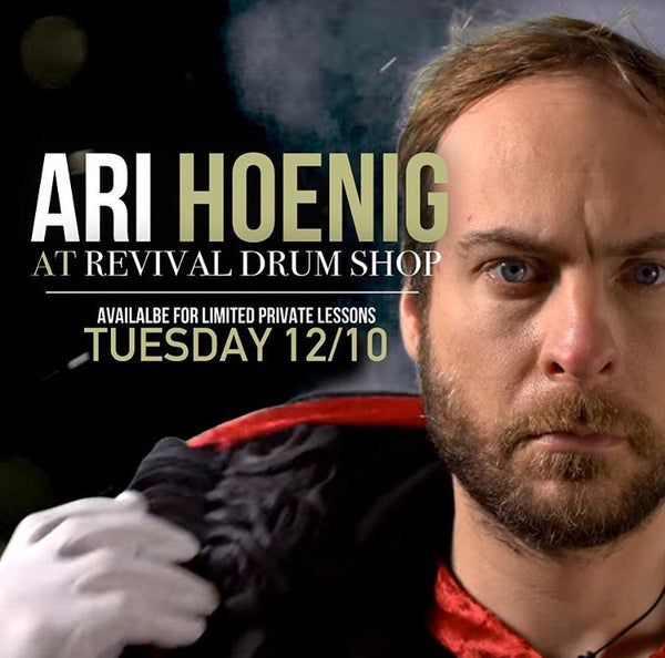 Events - Ari Hoenig Private Lesson (12/10, 11am)