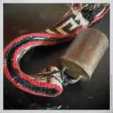 Percussion - Antique Horse Bell on Lanyard