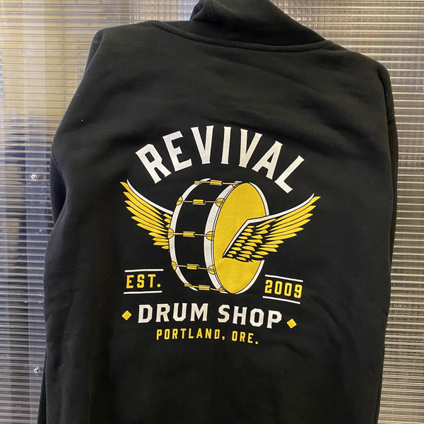 Apparel - Hoodie (Winged Drum/Black)