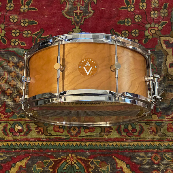 Snare - Vertical Drum Co. 6.5x14 Cherry