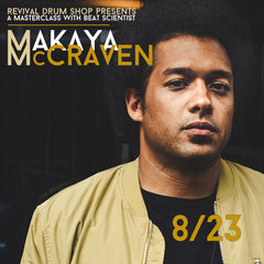 Events - Makaya McCraven Masterclass 8/23/19, 2pm-3pm