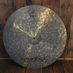 "Cymbals - Istanbul Agop OM 22"" Ride"