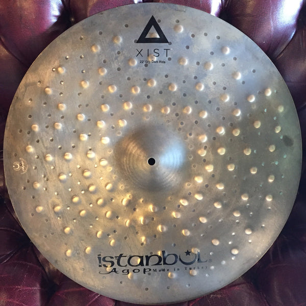 "Cymbals - Istanbul Agop Xist Dry Dark 22"" Ride"