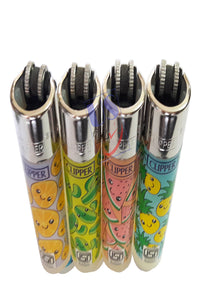 "US24 Multipurpose Lighter Bundle Pack - 4 Genuine Clipper Lighters""SUMMER PRINT"" Collection"