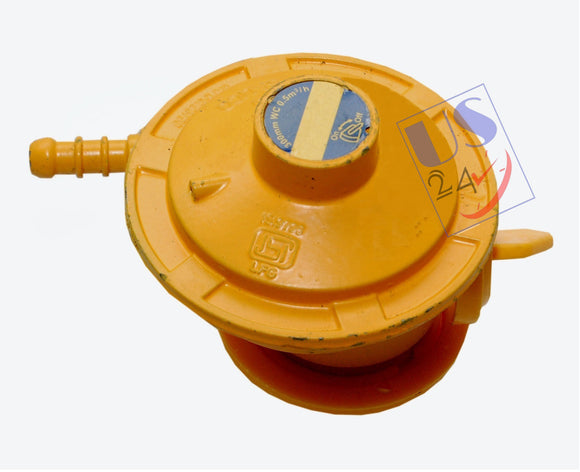 UAS High Pressure Gas regulator Adaptor for LPG cylinder and Geyser Yellow