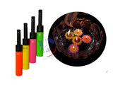 US24 Diwali Gift Pack - Clipper Refillable Lighter 1 pc with 4 no.s Floating Candles (Sunflower)