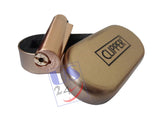 US24 Pack - Clipper Metal Premium Lighter, ROSE GOLD (1 pc) with Clipper Gas Refill Can 100ml (1pc)