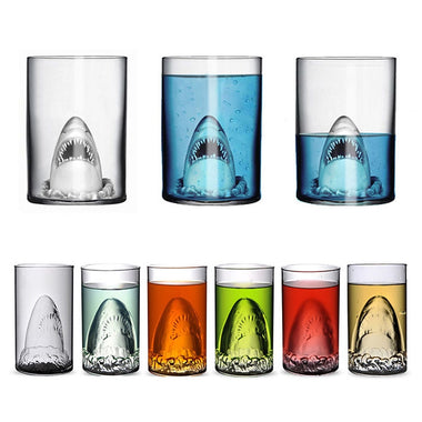 Shark Beer Glass