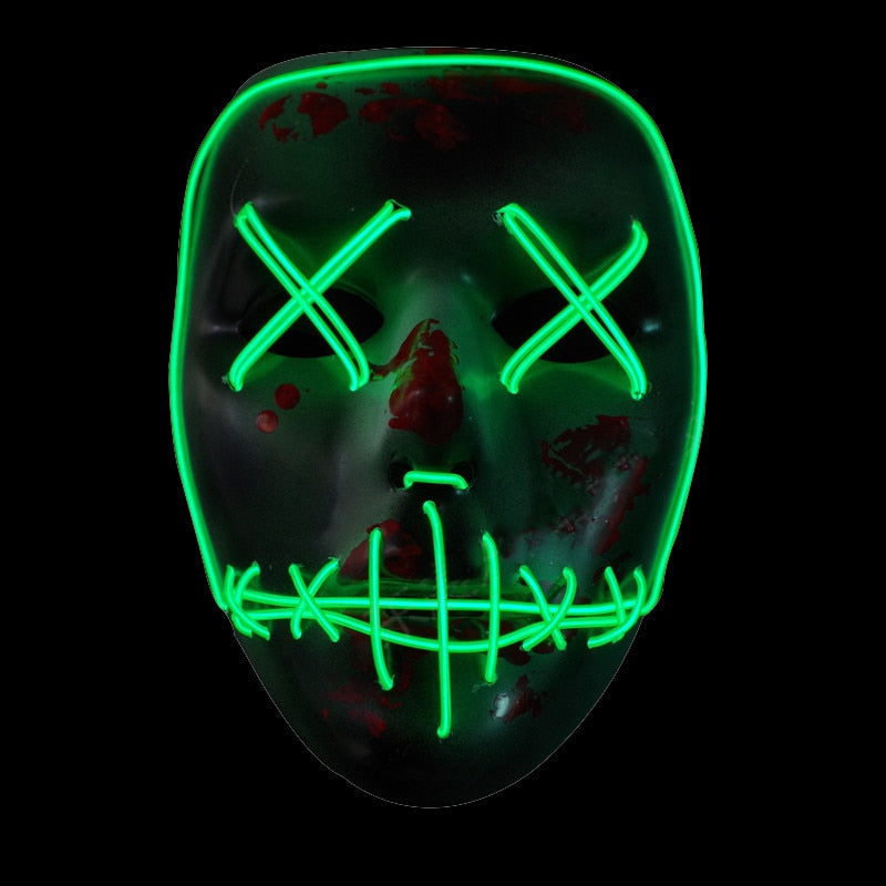 EL Wire LED Mask