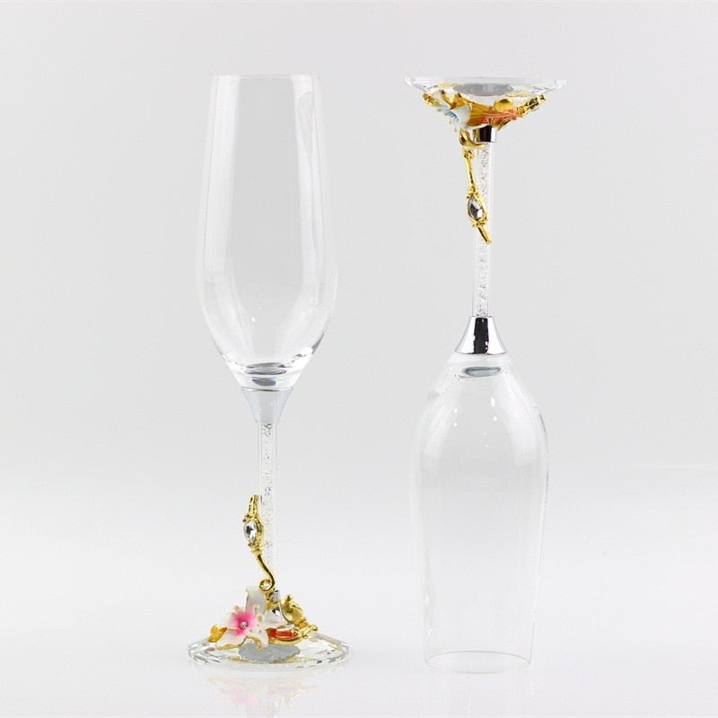 Crystal Party Celebration Glasses