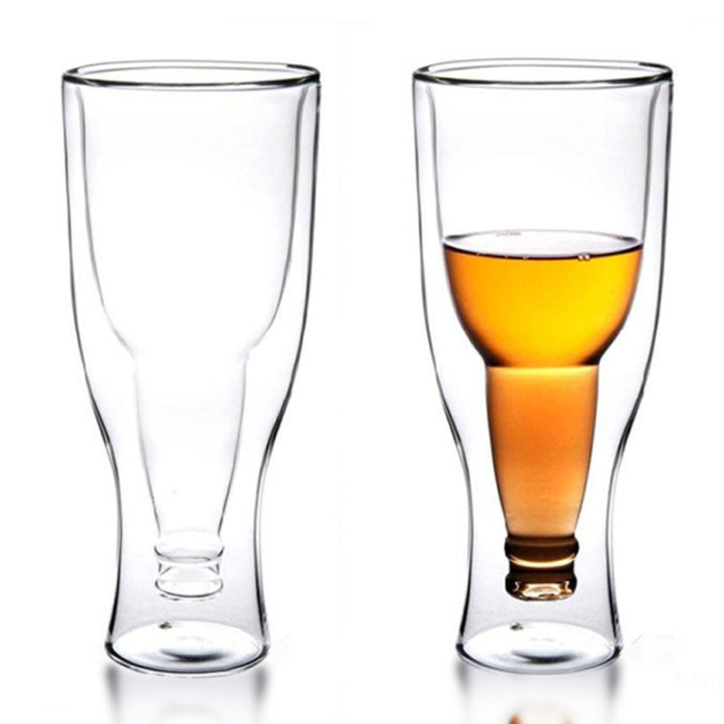 350ml Creative Upside Beer Glass