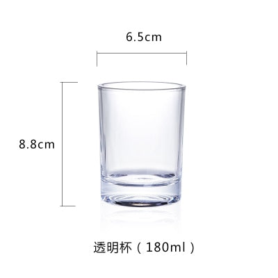Clear Glass Cups
