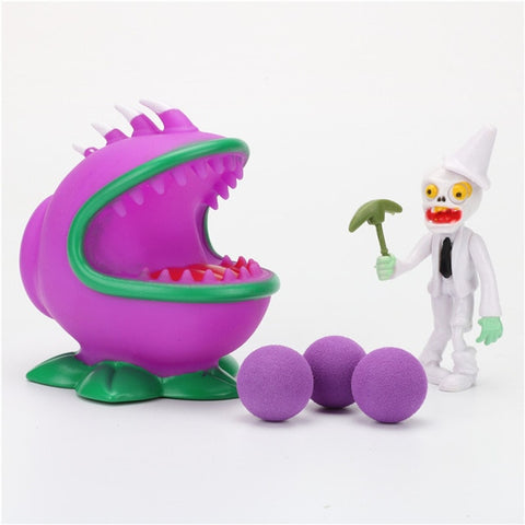 Plants vs Zombies Peashooter PVC Action Figure Model Toy Gifts