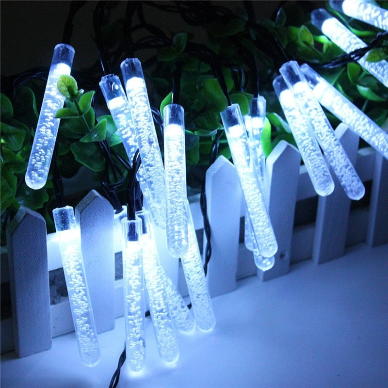 20 LED Solar Ice Lamps