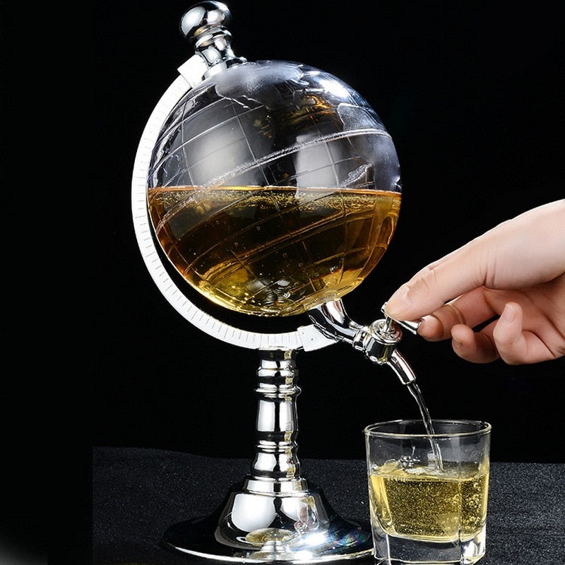 Mini Globe Wine Dispenser