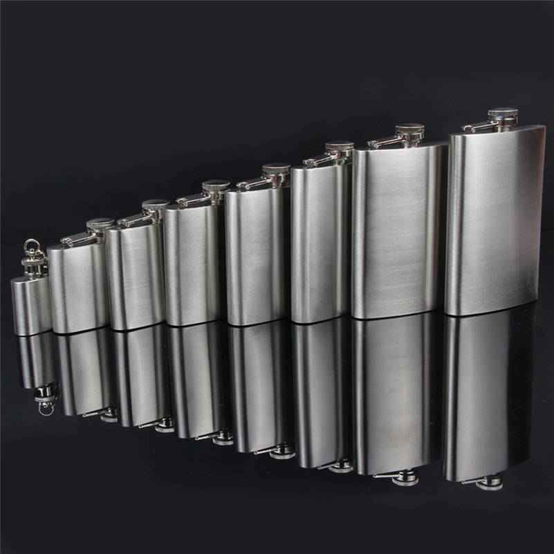 Portable Stainless Steel Hip Flasks