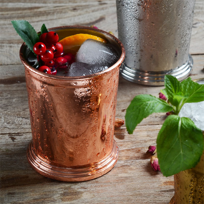 Copper Plated Beverage Cup