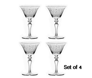 Cocktail Glasses Martini Set
