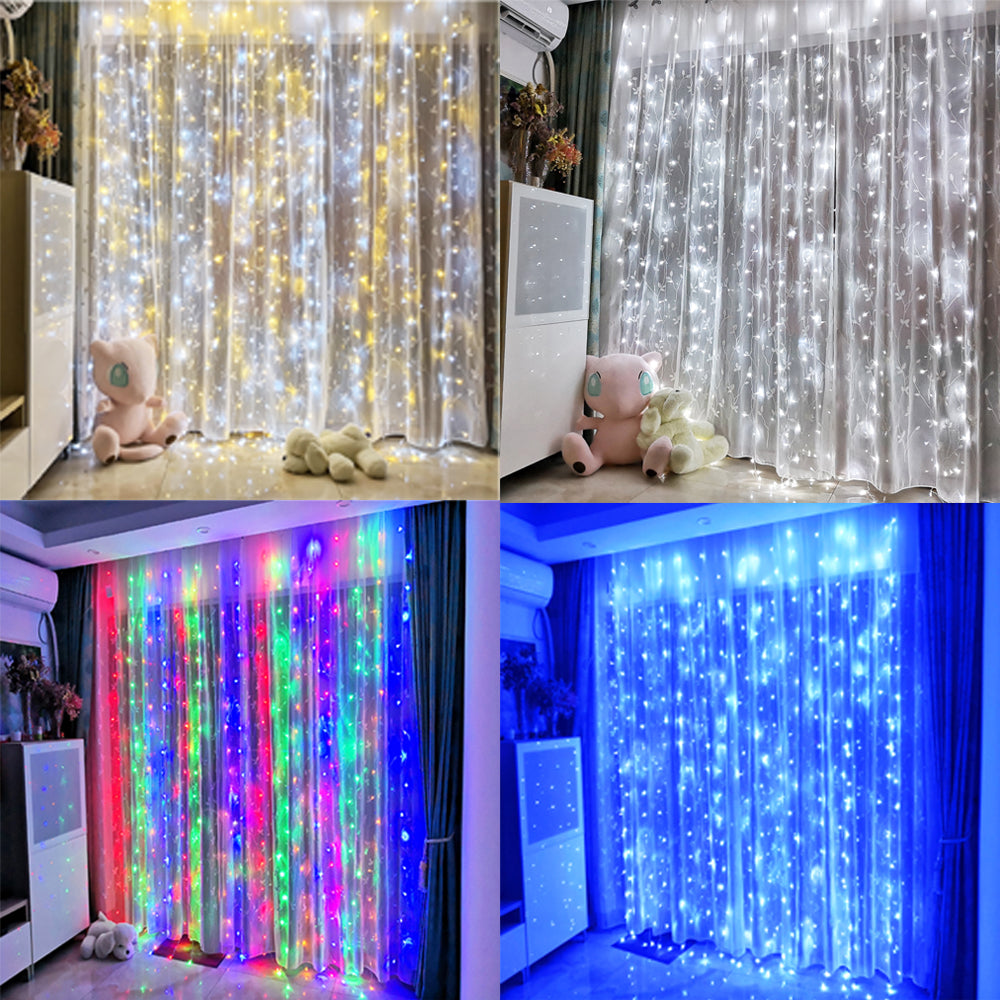 Christmas LED Curtain