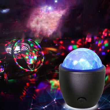 Crystal Magic Ball Lights