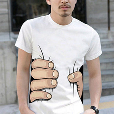 2019 New Fashion Men's Funny T shirt 3D