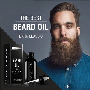 BEARD & MUSTACHE OIL DARK CLASSIC 50ML