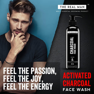 CHARCOAL FACE WASH 200ML