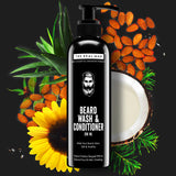 BEARD WASH AND CONDITIONER 200ML