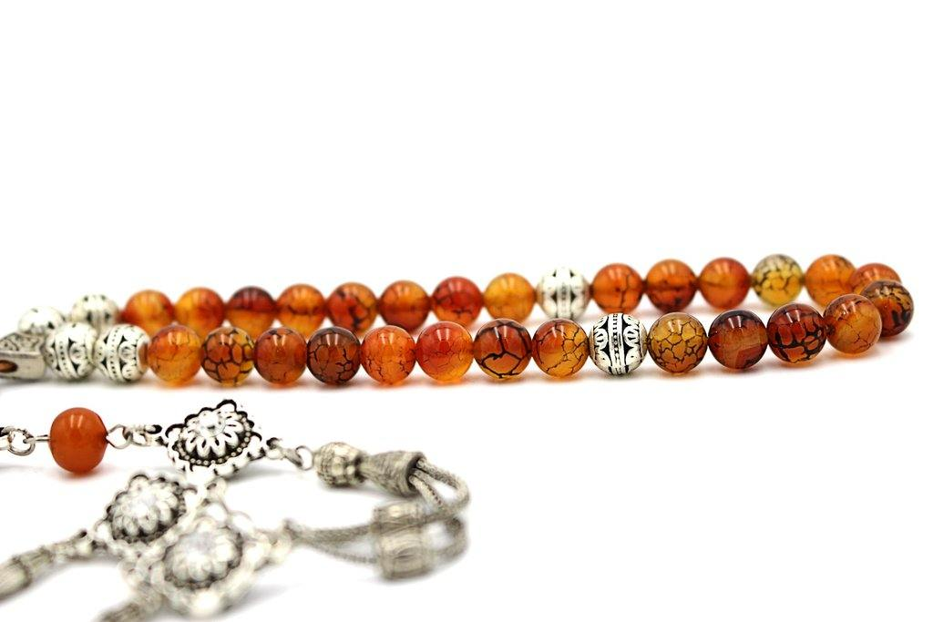 Agate Prayer Beads - Tesbih