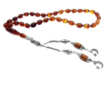 Load image into Gallery viewer, Amber Prayer Beads Kehribar Tesbih