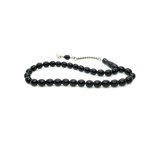 jet stone tesbih PRAYER BEADS