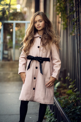 Aline Blush Pink Winter Coat
