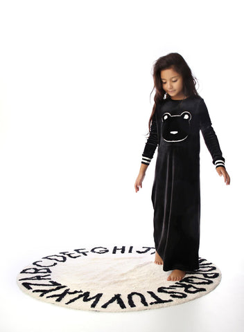Furry Bear Velour Lounge Dress