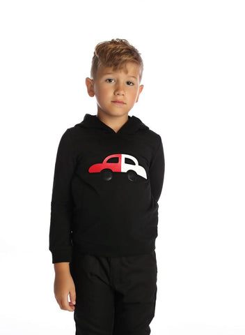 Hooded Car Top