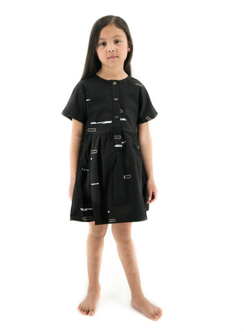 Capped Sleeve Dress