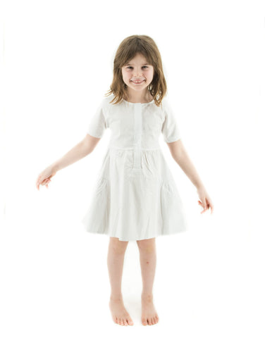 Short Sleeve Twirl Dress